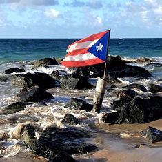 Instagram post by Daniel Maldonado • Jul 20, 2021 at 8:07pm UTC Puerto Rican Flag, After The Storm, Environmental Health, Puerto Ricans, Abandoned Houses, Vulnerability, Behind The Scenes, Caribbean, The Neighbourhood