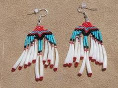 beautiful feathered wing earrings