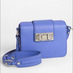 Rebecca Minkoff Box Mini Crossbody Blue