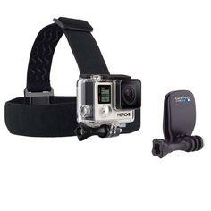 Faixa de Cabeça com Quickclip GoPro para Câmeras Hero ACHOM-001 - Preto - Acessórios Esportivos no Extra.com.br