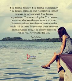 Things You Deserve In A Relationship | Positive Outlooks Blog