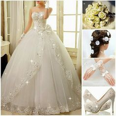 New Wedding Dress Designs Formal Dresses For Weddings, Princess Wedding Dresses, Bridal Wedding Dresses, Dream Wedding Dresses, Designer Sarees Wedding, Pretty Quinceanera Dresses, Quince Dresses, Wedding Styles, Marie