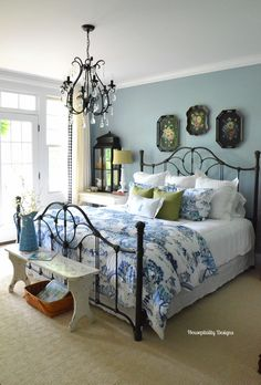 Vintage Bench-Guest Room/Housepitality Designs   Flickr - Photo Sharing!