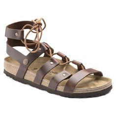 4e421f4ab7c Birkenstock Women s Cleo Papillio Natural Leather Sandal in Cognac – Country  Club Prep Strap Heels