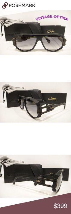 4f063efc507 CAZAL 163 301 SUNGLASSES MATT BLACK (11) AUTHENTIC These are 100% Genuine