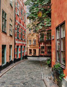 Visit to Old Stockholm in Sweden