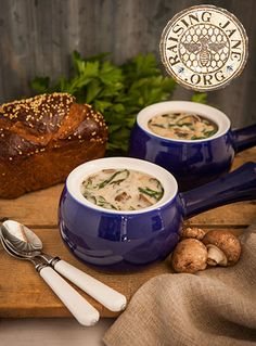 Creamy Mushroom Soup: Prep Time: 30 Minutes Cook Time: 30 Minutes Makes: 6-8- Servings