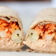 Try this Spicy Tuna Wrap recipe as an alternative to a spicy tuna roll.