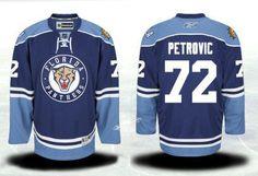 Florida Panthers 72 Alex Petrovic Third Jersey - Navy Blue [Florida Panthers Hockey Jerseys 082] - $50.95 : Cheap Hockey Jerseys