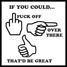 LMAO... some people I want to say this to today.