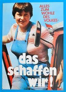 Da war doch was? Hab ich das schon mal gehört? - DDR posters - Yahoo Image Search Results | ds | SED-Plakat zum X. Parteitag 1981 (² https://de.pinterest.com/mesielein/mit-hinweisen-auf-ddr-zeit/ )
