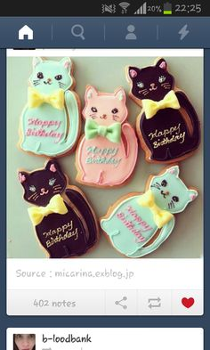 cat, cookies, cookie, pastel, sweet, sweet, honey, color, sablé, biscuit, instagram, meow, miaou, chat