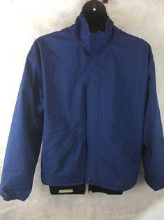 Forrester's GORE-TEX Jacket Waterproof Windproof Blue Golf Jacket Size XL USA #Forrester