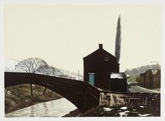 Peter Brook 'MARCH Melting Snow', 1976–7 © The estate of Peter Brook