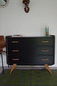 meuble de cuisine ann e 50 relooking meubles pinterest cuisine. Black Bedroom Furniture Sets. Home Design Ideas