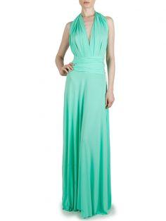 Von Vonni Transformer Dress - Mint, Long