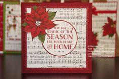 Stampin'Up!, home for christmas DSP, Cozy christmas stamp set, Christmas card