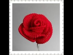 Today we are going to show you – how to Crochet Pretty Roses. Crochet Pretty Roses will be a great gift for every woman on birthday. Roses Au Crochet, Art Au Crochet, Crochet Motifs, Crochet Flower Patterns, Learn To Crochet, Crochet Flowers, Crochet Stitches, Free Crochet, Knitting Patterns