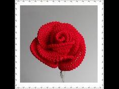 Pretty Crochet Roses [Video Tutorial] | Pattern Center
