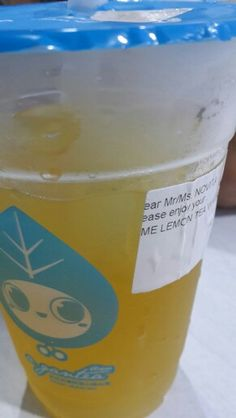 Lemon tea with Aiyu Jelly  @agantea