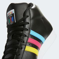 adidas Pro Model Shoes - Black   adidas US Toe Shoes, Adidas Superstar, Black Adidas, Black Shoes, Adidas Sneakers, Take That, Celebrities, Model, How To Wear