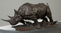 Jonathan Kenworthy, Bronze Rhinoceros SOLD $31,625 | Price Results ...