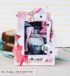 Фабрика декору: МК от Анны Игрушка. Декоративное панно из рамки под фотографию.