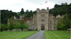 """Hampton Court, Herefordshire, England- Construction began in the 16th century... """"a luxurious aristocratic manor house on the border of Wales"""""""