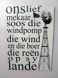 Related image Witty Quotes Humor, Windmill Wall Decor, Afrikaanse Quotes, I Love You Quotes, Inspiration Wall, Viera, Hobbies And Crafts, Metal Wall Art, Word Art
