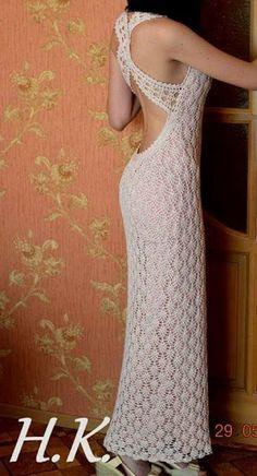 Fabulous Crochet a Little Black Crochet Dress Ideas. Georgeous Crochet a Little Black Crochet Dress Ideas. Crochet Wedding Dress Pattern, Crochet Wedding Dresses, Crochet Summer Dresses, Black Crochet Dress, Wedding Dress Patterns, Crochet Cardigan, Knit Crochet, Diy Crafts Dress, Diy Dress