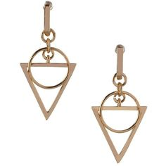 Bcbgeneration Wire Work Geometrical Drop Earrings ($20) ❤ liked on Polyvore featuring jewelry, earrings, crystal, wire jewelry, bcbgeneration, geometric jewelry, bcbgeneration jewelry and wire earrings