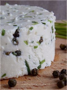 Sweet And Salty, Feta, Vegan Recipes, Goodies, Dairy, Food And Drink, Pudding, Cheese, Homemade
