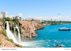 Duden Waterfalls, Turkey - This is one of Antalya's main attractions very popular with locals. Beautiful natural park, great views and the atmosphere will make this experience very pleasant and ideal for photography lovers.