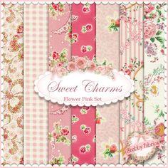 ХАЧУ НИМАГУ!!!! Mary Rose Amelia Pink 7 FQ Set By Quilt Gate ... : rose quilt fabric - Adamdwight.com