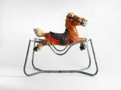 Bouncing Horse - I spent hours on one of these. Back in the toys were made to last too. I rode with the Lone Ranger on one of these.