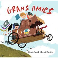 Grans amics, un àlbum de Linda Sarah, il·lustrat per Benji Davies Kids Education, Spanish, Album, Books, Movie Posters, Reyes, Cgi, Book Covers, Editorial