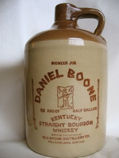 Old Boone Distillery Whiskey Jug - Stoneware