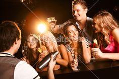 No bar — Imagem de Stock #11148659