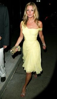 gorgeous dress!! love the color, love the draping, and love Kate