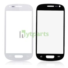 Samsung cell phone parts-Front Outer Screen Glass Lens Replacement for Samsung Galaxy S3 Mini  white