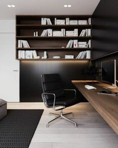Home Office Interior Design . Home Office Interior Design . Nice Small Home Office Practical Setup Kind Of How My Home Office Space, Home Office Decor, Office Spaces, Modern Home Office Furniture, Apartment Office, Home Modern, Modern Rustic, Modern Decor, Modern Design