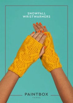 Snowfall Wristwarmers in Paintbox Yarns Simply Aran - Aran-Acc-003 - Downloadable PDF. Discover more patterns by Paintbox Yarns at LoveKnitting. The world's largest range of knitting supplies - we stock patterns, yarn, needles and books from all of your f