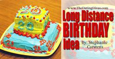 Away from a loved on during a birthday?  Check out this FUN idea that will help you close that gap! www.TheDatingDivas.com #birthday #longdistance