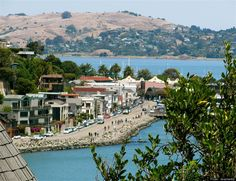 Sausalito, CA One of the Happiest Seaside Towns, According To Coastal Living Magazine. I enjoyed visiting there. It was really pretty and there was a good many shops and fun entertainment on the boardwalk.
