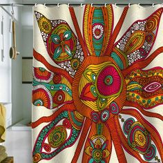 I pinned this Liora Shower Curtain from the Valentina Ramos event at Joss & Main!