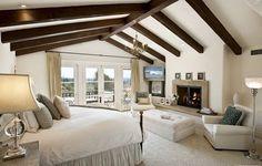 Super Cozy Master Bedroom Idea 17