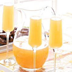 """Champagne"" Punch- (replace booze with sparkling grape juice)"