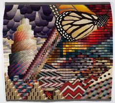 Tapestry Goes Contemporary in the Hands of Fiber Artist David Johnson