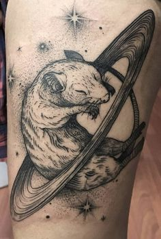 Chinese Zodiac rat tattoos