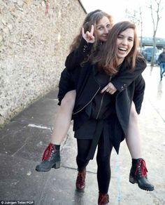 Pussy Riot (Nadja and Masha). 'Nuff said.